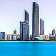 Abu Dhabi Corniche Poster