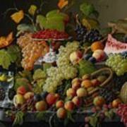 Abundant Fruit Poster