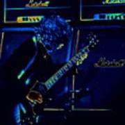 Ac Dc Electrifies The Blues Poster