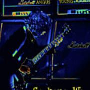 Ac Dc Electrifies The Blues In Spokane Poster