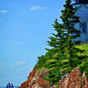 Acadia Lighthouse Poster