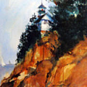 Acadian Lighthouse Poster