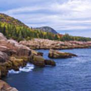 Acadia's Coast Poster