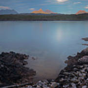 Achnahaird Bay And Assynt Mountains Poster