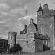 Ackergill Tower 1119 Bw Poster
