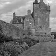 Ackergill Tower 1173 Bw  Poster