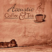 Acoustic Coffee And Tea - 1c2b Poster