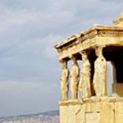 Acropolis Of Athens Poster