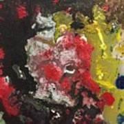 Acrylic Abstract 15-v.vvv Poster
