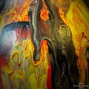 Acrylic Glass Pour 4 Poster