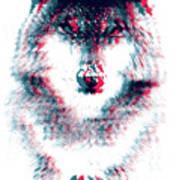 Act Like A Wolf Poster