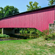 Adairs/cisna Mill Covered Bridge Poster