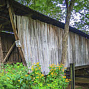 Adams/san Toy Covered Bridge  Poster