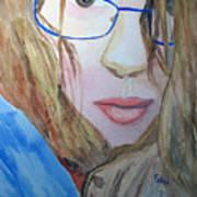 Addie In Blue Poster