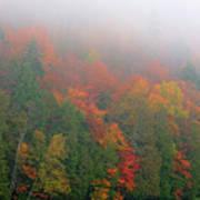 Adirondack Autumn Colors Poster