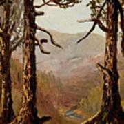 Adirondack Landscape Poster