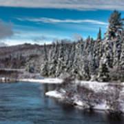 Adirondack Snowfall Poster