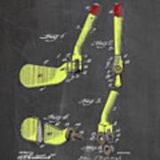 Adjustable Golf Club Poster