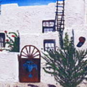 Adobe House Poster