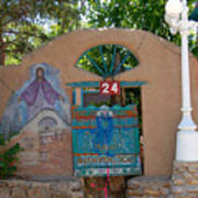 Adobe Wall Chimayo  Poster