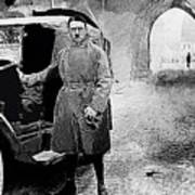 Adolf Hitler Shortly After His Release From Prison 1924-2012 Poster