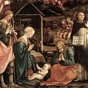 Adoration Of The Child With Saints 1460 65 Fra Filippo Lippi Poster