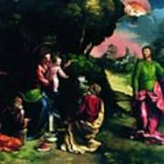 Adoration Of The Magi 1520 Poster