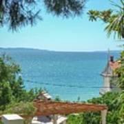 Adriatic Coast Sea View Poster