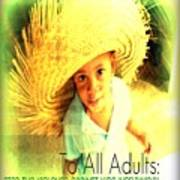 Adults Only Poster by Fania Simon