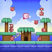 Adventure Kirby Poster