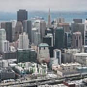 Aerial San Francisco Poster
