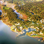 Aerial View Of Hilton Head Sc Poster