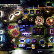 Aerial View Of Norco Fair - Pottstown Pa Poster