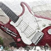 Aerosmith Guitar Walt Disney World Pa 01 Poster