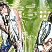 Aerosmith Watercolor Poster