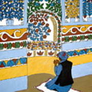 Afghan Mosque Poster