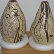 African Terracotta Gourds - View Two Poster