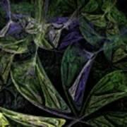 Afro-violet Feeling Poster