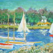 After Monet Poster