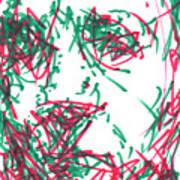 After Rembrandt - Self Portrait Poster