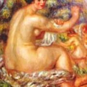 After The Bath 1912 Poster