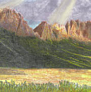 After The Monsoon Organ Mountains Poster