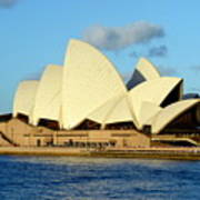 Afternoon Light On The Sydney Opera House Poster
