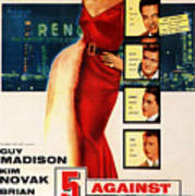 Against The House Film Noir  Poster