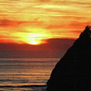 Agate Beach Oregon Poster