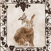 Aged Bunny Poster by Eva Thomas