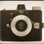 Agfa Clack Camera Poster