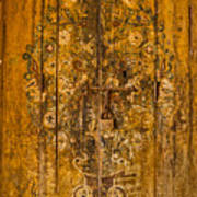 Aging Decorative Door Poster