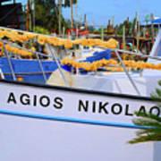 Agios Nikolaos Poster
