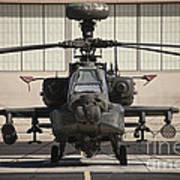 Ah-64d Apache Longbow At Pinal Airpark Poster